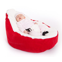 Wholesale cost doomoo baby beanbag with solid red base