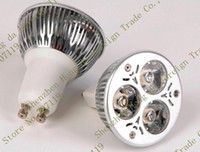 Wholesale 100pcs AA20 Dimmable x3W W GU10 Socket CREE LED Downlight Bulb Lamp Light Warm White Cool White