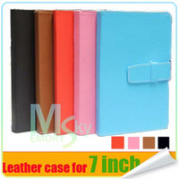 Wholesale 2014 Hot Selling Tablet PC Leather Case for Tablet pc Epad Colorful Hotsale Black Blue Red Pink Mahogany Color Available