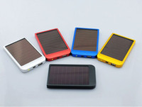 Wholesale New Multi function solar charger mobile phone charger mobile power the MA external battery