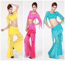 Wholesale 2012 hot selling latest style colorful sexy professional Belly Dance practice Costume QC1412