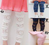 Girl children fashion garment - Baby Girls Leggings Cotton Girls Lace Tights Children Costume Children Fashion Garment Color