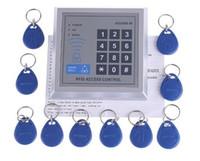 al por mayor rfid clave cerraduras de las puertas-Al por mayor - cerradura de puerta de entrada de la proximidad de RFID Sistema de control de acceso con 10 Fobs dominantes, envío libre, Re