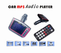 Wholesale 2012 driver lover car mp3 player with wireless fm transmitter wide screen support remote sd mmc