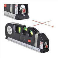 Wholesale 1 Piece Aligner Horizon Vertical Laser Level Measure Tape FTLV Pro Laser Measuring Meter Ruler