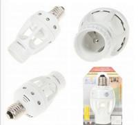 Wholesale New AC V V Degrees W PIR Human Motion Sensor E27 Led Lamp LED PL White