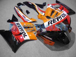 Free customize REPSOL fairings kit for CBR600F3 95 96 CBR600 F3 1995 1996 CBR 600 F3 95 96 aftermarket fairing kits