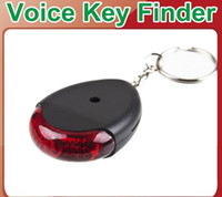 Wholesale Sound sonic Voice Control Key Finder Locator Chain Keychain AJ512