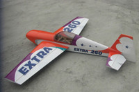 Wholesale engine powered balsa aerobatic airplane C type aircraft model hobby Extra260 cc RC ARF
