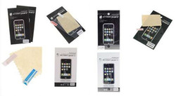 100pcs lot Clear Screen Protector For iPhone 4 4G With Retail Package