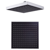 """Exposed Contemporary abs Free shipping Bathroom 8"""" (200mm) Rain Overhead Shower Head ABS Plastic Thicken Chrome Finish 21007"""