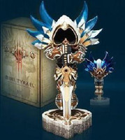 Wholesale DIABLO MINI TYRAEL Statue Figure ANIME POLY RESIN Figures PREMIUM SOUVENIR COLLECTIBLE Free CPAP
