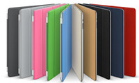 For Apple apple polyurethane - Genuine Smart Cover Stand Leather Polyurethane Magnetic Case for ipad ipad Sleep Wake Up pc
