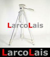 Wholesale Gray Professional Scaleable Portable Tripod Head screw Stand for DSLR Video Camera DV Canon Sony