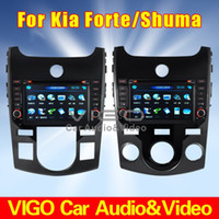 Wholesale KIA Forte Shuma Cerato Koup In Dash Car DVD Player Multimedia GPS Navi Bluetooth Radio with Manual