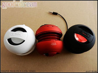 Wholesale X Mini Hamburger Speaker hot sell x mini USB Computer audio speakers mini Stereo speakers