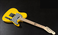 Wholesale best Chinese guitar selling yellow Custom Electric Guitar Musical Instruments OEM in stock