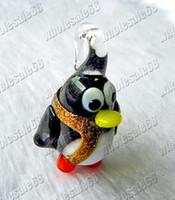glass assorted glass beads - Beads Jewelry assorted penguin animal murano glass Beads pendants mm