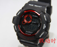 Wholesale New style G Men s sports watches Luminous light timing watches luxury watches