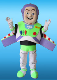 Wholesale customized adult buzz lightyear character mascot costumes good quality