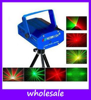 Wholesale New china Mini Multicolor Moving Party Stage Laser Light Project Light DJ Party Show
