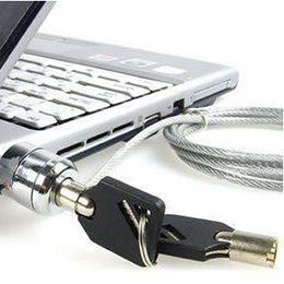 Ноутбуки Ноутбуки PC компьютер замка безопасности якорная цепь 10pcs / серия свободный Shpping с отслеживая номером