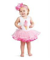 12-18 Months baby girl pettiskirts - Ice Cream Cake Bitter Fleabane Baby Pettiskirts Dresses Tutu Dress Girl s Skirt girl Pettiskirt