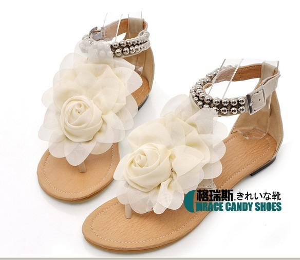 Hot sales new 2014 summer Women sandals Rhinestone T-strap sandals Shoes woman designer Hollow