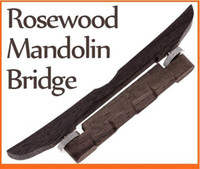 Wholesale Dropshipping Adjustable Mandolin Bridge Made of Rosewood