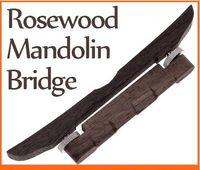 Wholesale Dropshipping Adjustable Mandolin Bridge Made of Rosewood