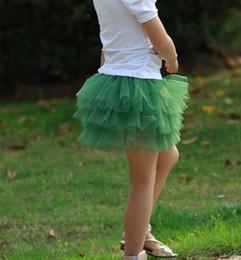 Wholesale Best match Mixed colors Children s mini gauze skirts cake skirt skirt