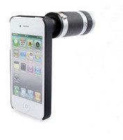 Wholesale New apple accessories times iphone4 iphone4S outer lens telescope for generation