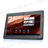 Wholesale 7 quot Allwinner A13 Android OS Capacitive Touchscreen WIFI USB G GHz MB DDR3 GB F1 Tablet