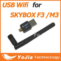 Wholesale 150M USB WiFi Wireless Network Card n g b LAN Adapter best for Skybox M3 F3 with Antenna