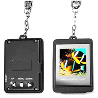 Wholesale Mini Portable quot LCD Rechargeable USB Digital Photo Frame Picture Album Clock with Keychain