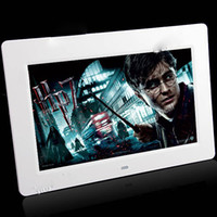 Wholesale 10 quot LCD Wide Screen Digital Photo Picture Frame MP3 Movie Player w Remote Control MMS SD MS