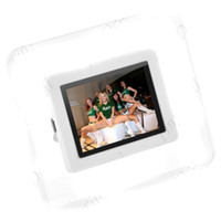 Wholesale 2 quot LCD Rechargeable USB Digital Photo Frame Picture Album Clock