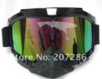 Wholesale Snowmobile winter Ski goggle eyewear protective glasses SKI SNOWBOARD SNOW AIRSOFT EYEWEAR color