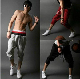 Wholesale 2012 New Fashion Korea Style Men s Casual Pants Slim Sport Leisure Shorts Pants K19