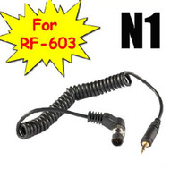 Wholesale LS N1 Shutter release cable for Yongnuo RF N1 Wireless flash trigger Nikon D1 D2 D3 D200