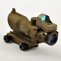 acog doctor sight - Tactical TA31 ACOG X32 Riflescope amp Doctor sight with auto red dot Tan