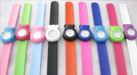 Wholesale 100pcs mix color stylish Polar bears Kids candy watch Children Silicone snap Slap jelly gift Watches