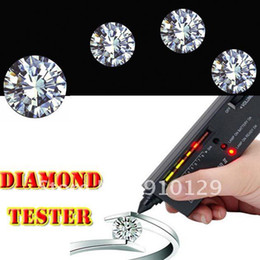 Wholesale New Diamond Tester Gemstone Selector II Gems LED Precision Indicator Jewelry Tool