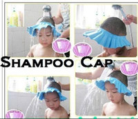 Wholesale NEW Safe Shampoo Shower Bath Cap for Baby Children
