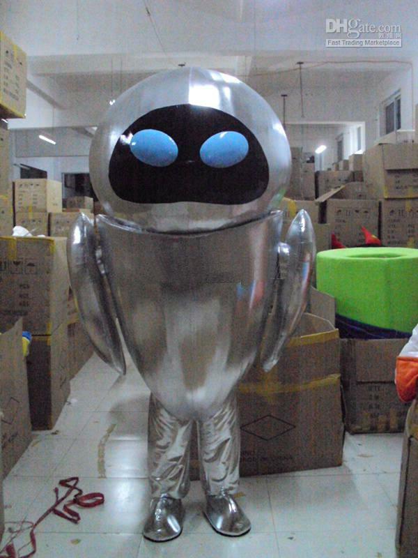 Robot Wall e Friend Cartoon