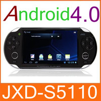 Wholesale CHpost JXD S5110 Game Console Tablet PC Android Support Nintendo D64 GBA Sega MD FC JX