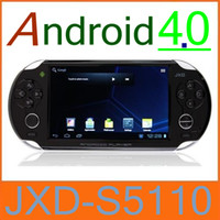 Wholesale 2PCS JXD S5110 quot Android Game Console point Touch Screen Tablet Pc Wifi NEW JX
