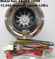Wholesale Racing Electric Supercharger for all car TK AW5001N aluminum Fan