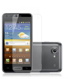 Wholesale For Galaxy S Advance I9070 screen protector LCD film guard with retail package on sale