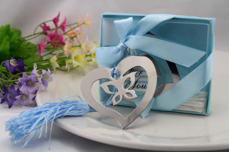 Wholesale Bookmarks - Buy Wedding Favors Gifts/Heart With Buttfly